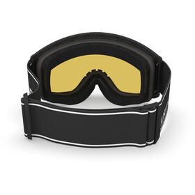 Spektrum Templet Basic Goggles, black/light purple mirror silver